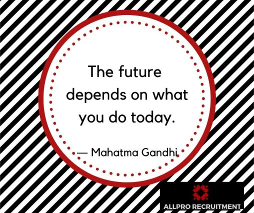 the future depend on what you do today